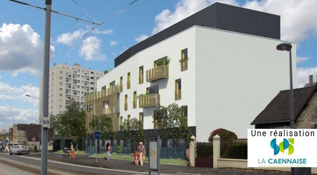 programme immobilier neuf caen le point carr investissement locatif citizim. Black Bedroom Furniture Sets. Home Design Ideas